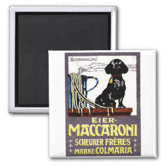 1910 Maccaroni Poster Magnets