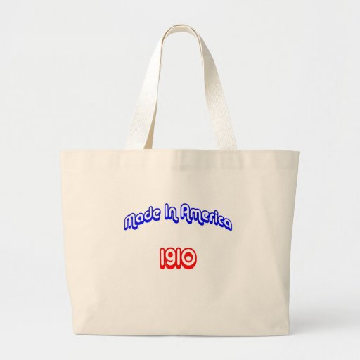 1910 Made In America Canvas Bag