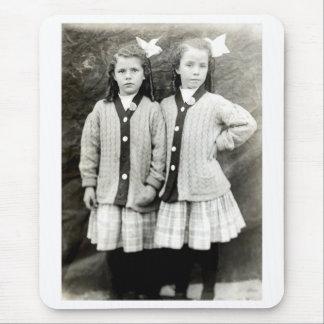 1910 mejores amigos tapete de ratones