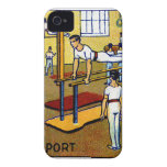 1910 Men's Gymnastics iPhone 4 Cover