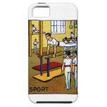 1910 Men's Gymnastics iPhone 5 Case