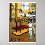 1910 Men's Gymnastics Posters