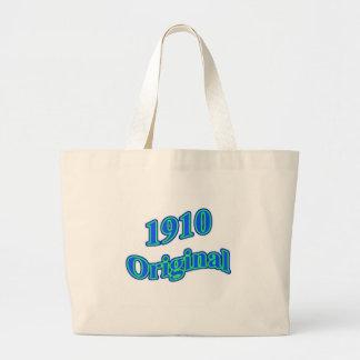 1910 Original Blue Green Tote Bags