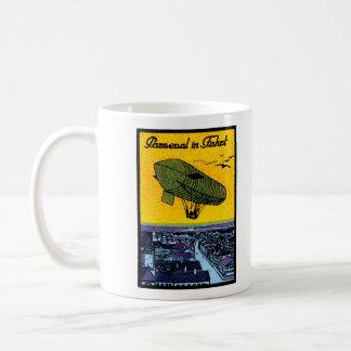 1910 Parseval Airship Poster Coffee Mug