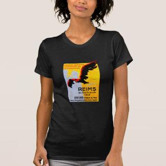 1910 Reims Air Show Poster T-Shirt