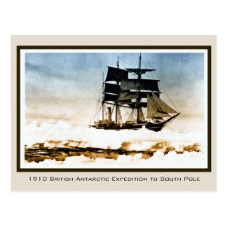 1910 Scott Expedition to Terra Nova South Pole Post Card