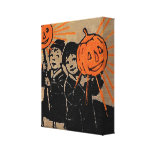 """1910 """"TOY PUMPKINS""""  BOOK COVERART CANVAS WRAP GALLERY WRAPPED CANVAS"""