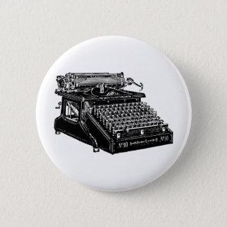 1910 Typewriter Pinback Button