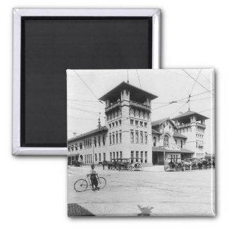 1910 Union Station Charleston SC Magnet