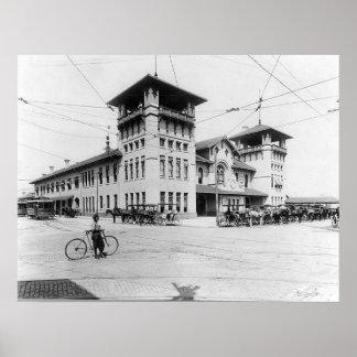 1910 Union Station Charleston SC Print