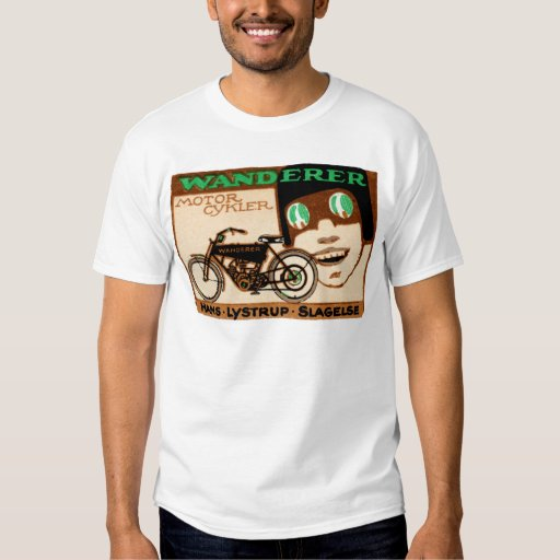 1910 Wanderer Motorcycle Poster T-Shirt