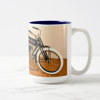 1910 Winchester Motorcycle Two-Tone Coffee Mug
