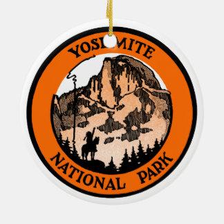 1910 Yosemite National Park Ceramic Ornament