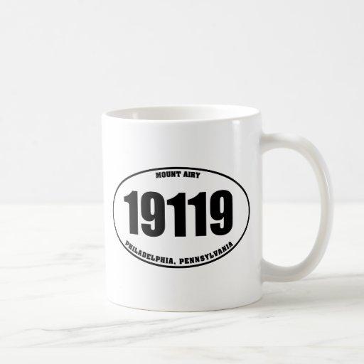 19119 - Mount Airy Philadelphia PA Coffee Mug