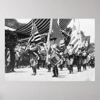 1911 4tos de la impresión de julio NYC Póster