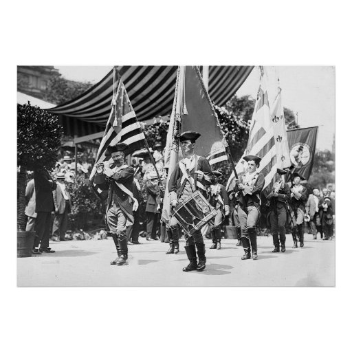 1911 4tos de la impresión de julio NYC Poster