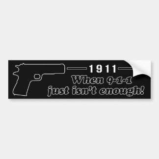 1911 BUMPER STICKER