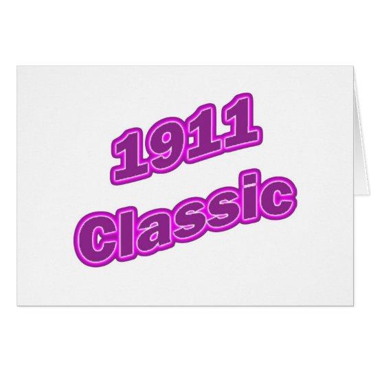 1911 Classic Purple Card