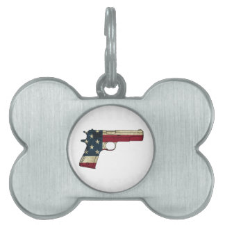 1911 CLASSIC WHITE.png Pet ID Tag