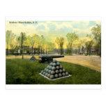 1911 el lugar de los soldados del vintage, búfalo, tarjeta postal
