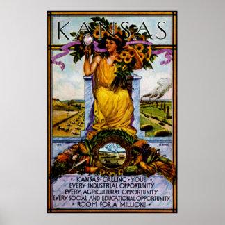 1911 Kansas Poster