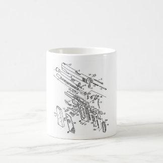 1911 parts classic white coffee mug