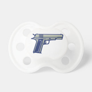 1911 Semi-Automatic Pistol Side Retro Pacifier