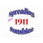 1911 soles de extensión postal