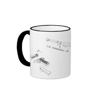 1911 Takedown Ringer Coffee Mug