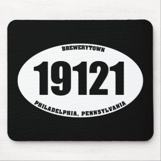 19121 - Brewerytown Philadelphia PA Mousepad