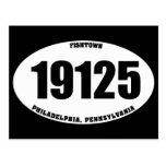 19125 - PA de Fishtown Philadelphia Tarjetas Postales