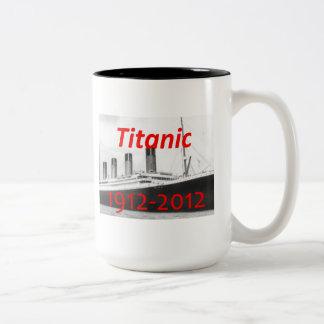 1912-2012 tazas titánica