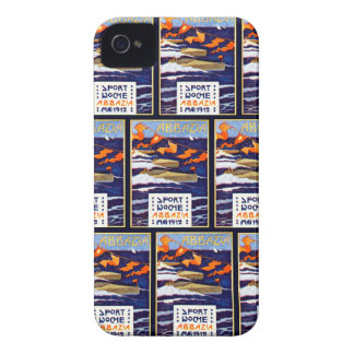 1912 Abbazia Speed Boat Races iPhone 4 Covers