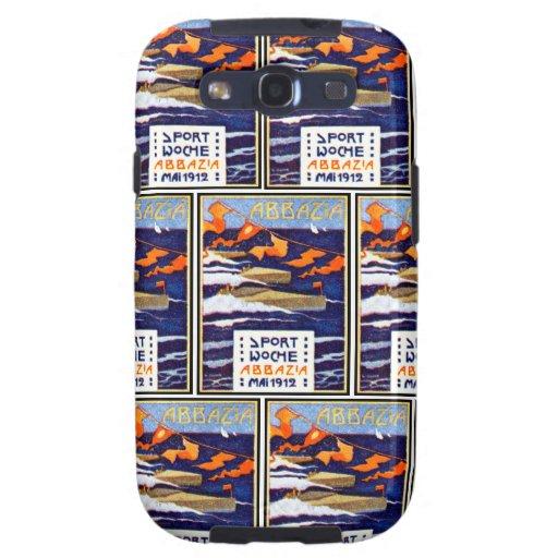 1912 Abbazia Speed Boat Races Samsung Galaxy S3 Cover