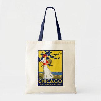 1912 Chicago, el centro turístico de verano Bolsa De Mano