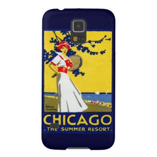 1912 Chicago, el centro turístico de verano Carcasa De Galaxy S5