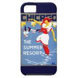 1912 Chicago, el centro turístico de verano iPhone 5 Case-Mate Carcasas