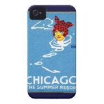 1912 Chicago, el centro turístico de verano iPhone 4 Protectores