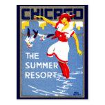 1912 Chicago, el centro turístico de verano Postales