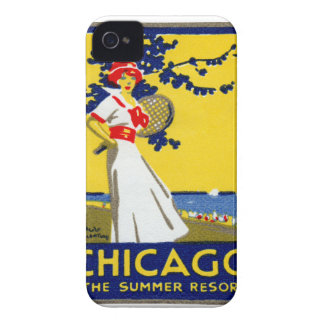 1912 Chicago, The Summer Resort iPhone 4 Cases