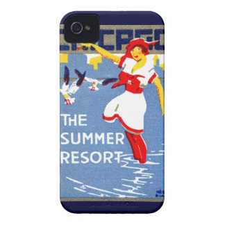 1912 Chicago, The Summer Resort iPhone 4 Case-Mate Case