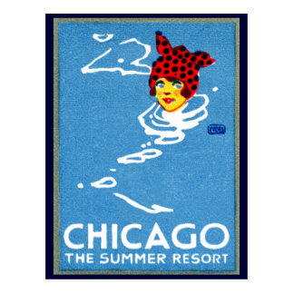 1912 Chicago, The Summer Resort Post Card