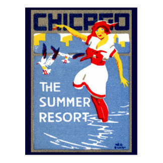 1912 Chicago, The Summer Resort Post Cards