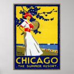 1912 Chicago, The Summer Resort Poster