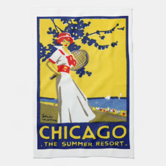 1912 Chicago, The Summer Resort Towels