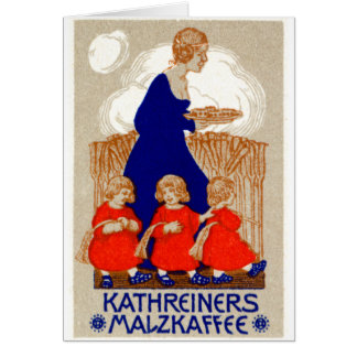 1912 Coffee Poster Card