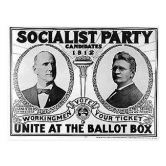 1912 Debs - Seidel Postcard