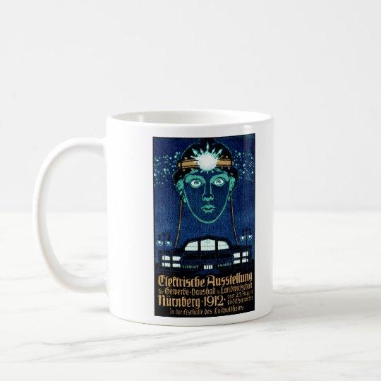 1912 Electricity Expo Poster Coffee Mug