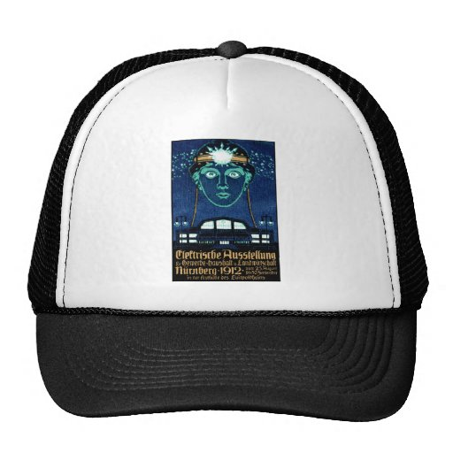 1912 Electricity Expo Poster Trucker Hat