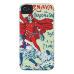 1912 French Carnaval Case-Mate iPhone 4 Cases